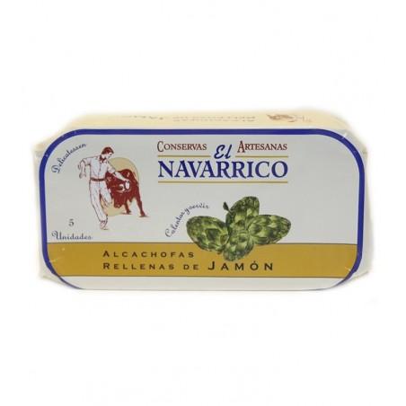 Alcachofas rellenas de Jamón EL NAVARRICO