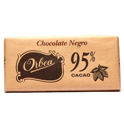 Chocolate negro 95 % Orbea