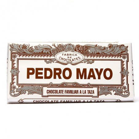 Tableta de Chocolate PEDRO MAYO