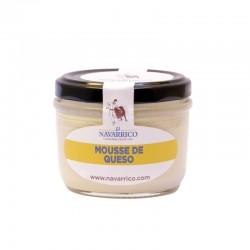 Mousse de queso El Navarrico