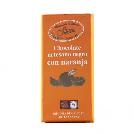 Chocolate negro con naranja SUBIZA
