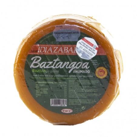 Queso Idiazábal Baztangoa Ahumado entero