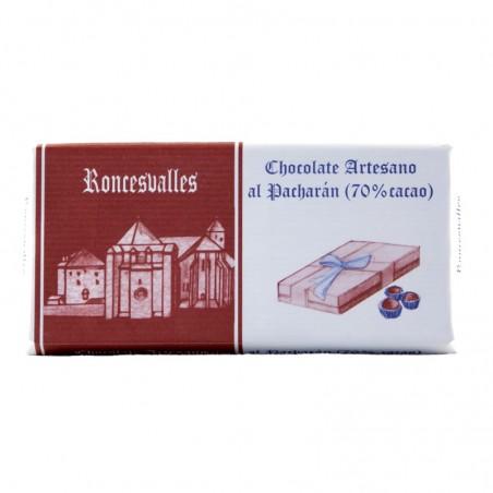 Roncesvalles Chocolate artesano al Patxarán Subiza