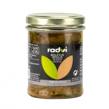 Hongos Boletus Radvi (aceite oliva)